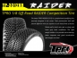 Mobile Preview: TPRO 1/8 OffRoad RAIDER - XR Super Soft T4 - Weiß - Dish (2)