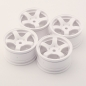 Mobile Preview: Sweep Mini TC M-Chassis Pre-Glued Tires Set 33deg (4pcs)