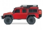 Preview: TRAXXAS TRX-4 Land Rover Crawler rot 1/10 Crawler 2.4GHz (Link-fähig)