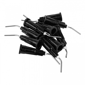 1up Racing HD Curved Steel Glue Tips - Medium-Thick Glue (10pcs)