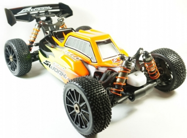 SWORKz Apollo 1/8 Brushless Power Buggy Pro RTR inkl. lackierter Karosserie