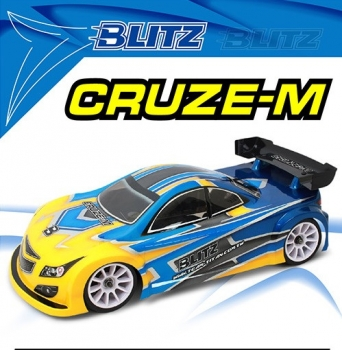 BLITZ CRUZE-M 1/10 Mini Karosserie 0,8mm