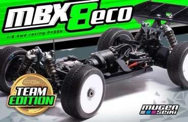 MBX-8 Eco 1/8 4WD OFF-Road Buggy Team Edition MUGEN