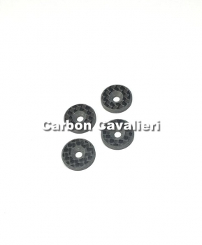 RCCC Carbon fiber Wing Washer 4pc.