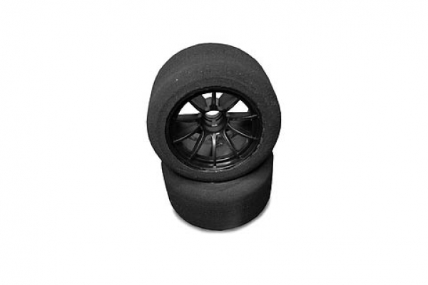 FOAM TYRES FOR FORMULA CAR 1/10 - FRONT (40 SHORE)