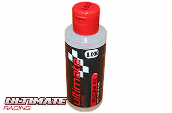 Ultimate Racing Silikon Differential-Öl - 8'000 cps (60ml)