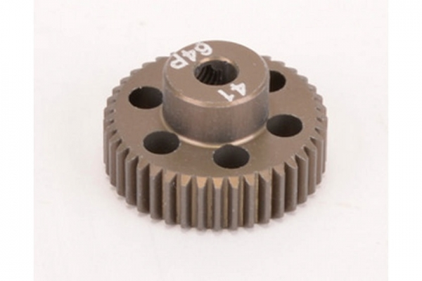 Pinion Gear 64DP 41T (7075 Hard)